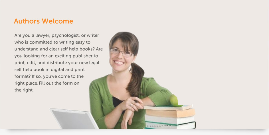LegalForce BookFlip - Author Welcome