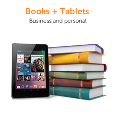Books and Tablets - for Business and Personal